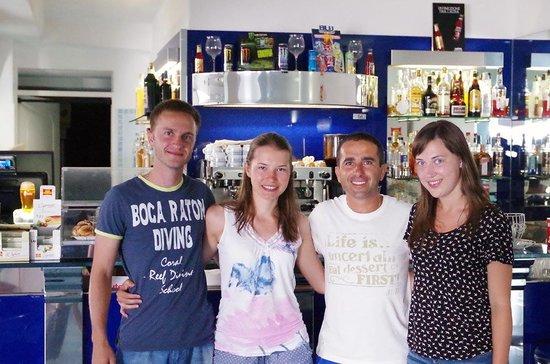 La Rotonda Sul Mare: Мы с друзьями и Америго.