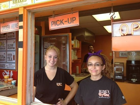 Blinks Fry Doe : pleasant and friendly staff