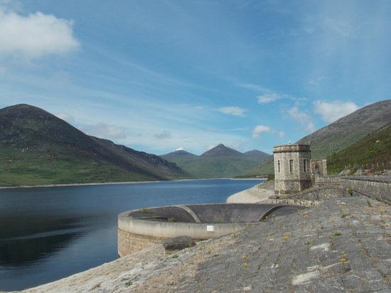 Silent Valley Mountain Park: the dam