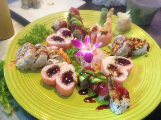 Lucky House: Yummy sushi