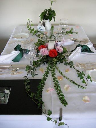 Giardino Marling: tafelversiering