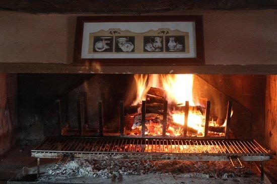 Il Posto delle More: wood fire