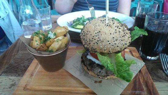 Jamie's Italian : Jamies Burger with Posh Chips £13.45