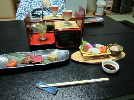 Gion Fukuzumi: Dinner is served in the room