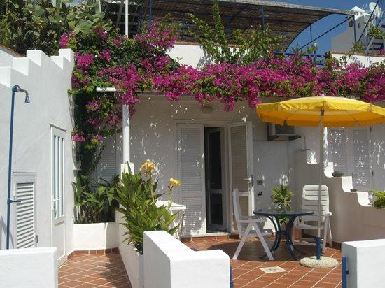 Villa Flavia: terrazza