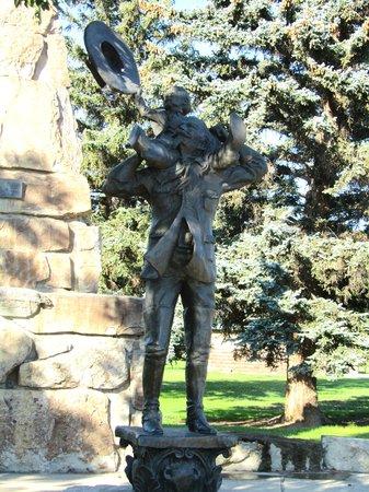 Rocky Mountain Mojoe: Cody statue