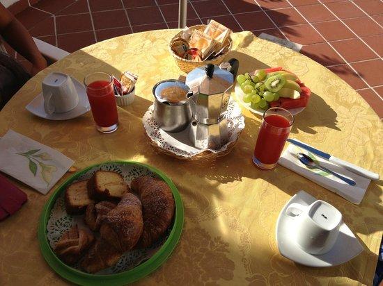 Villa Flavia: colazione
