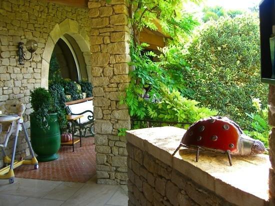 Lou Granos : una delle terrazze