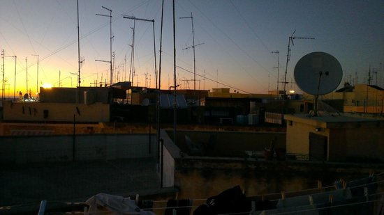 B&B Bella Bari : View from the terrace at night