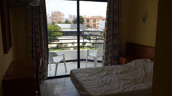 Hotel Club La Noria: bedroom double bed
