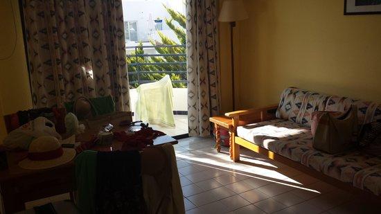 Hotel Club La Noria: living room