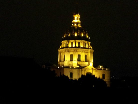 Hotel de l'Empereur : View from Balcony - night