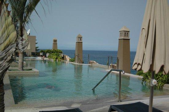 Playa Calera: Piscina en la cubierta vista sensacional