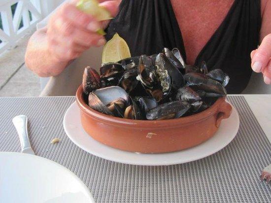 Restaurante es Pins: Mussels