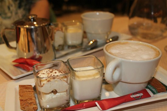 Le Bistro Romain: Cafe gourmand