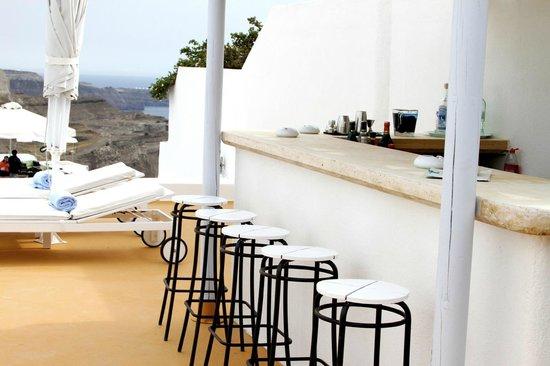 Aria Suites: Hotel bar