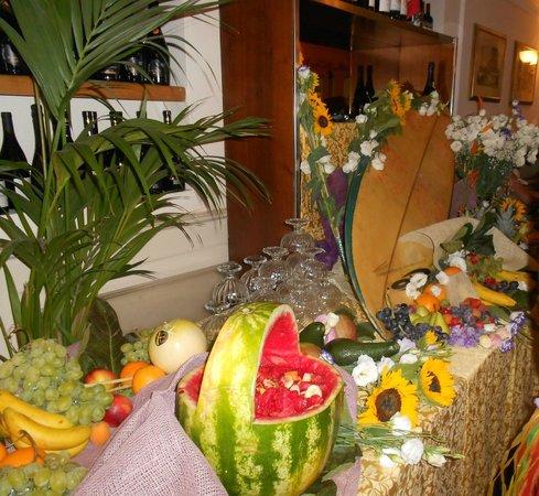 Hotel Tahiti : buffet