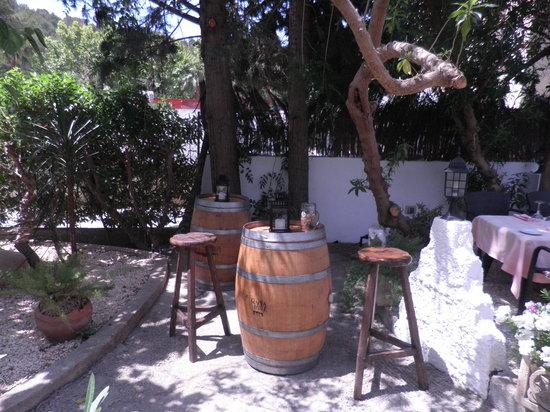Restaurante Casa Rustica : Entrada