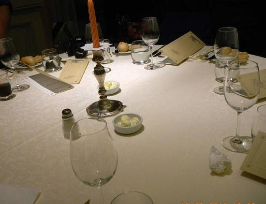 Palladio Hotel & Spa: dining table at private party at the Bauer hotel