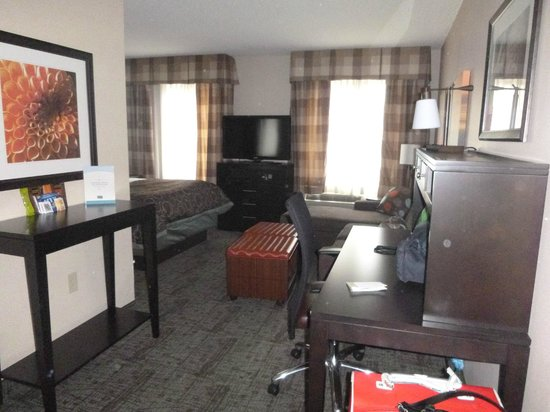 Staybridge Suites Atlanta Buckhead : Sitting area