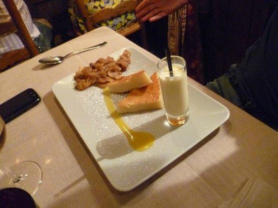 La Grange: Dessert