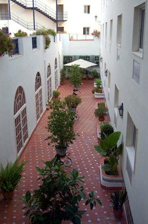 Monte Triana Hotel : Terrasse