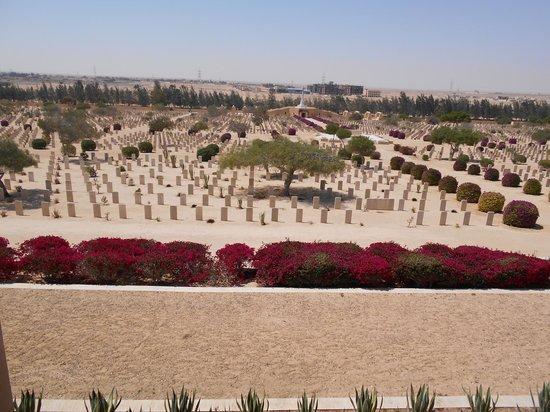 El Alamein War Cemetery: El Alamein Commonwealth War Museum #35