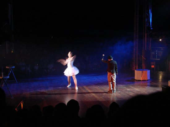 Benidorm Circus: charly chaplin