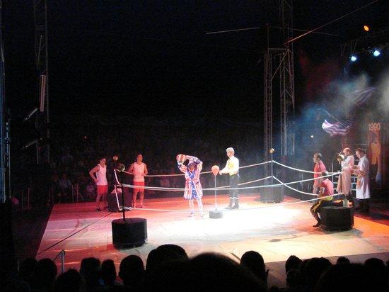 Benidorm Circus: payasos boxeo