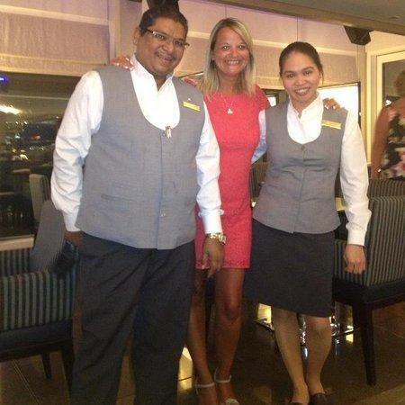 Jumeirah Beach Hotel: Fantastic Charles & Ramalyn