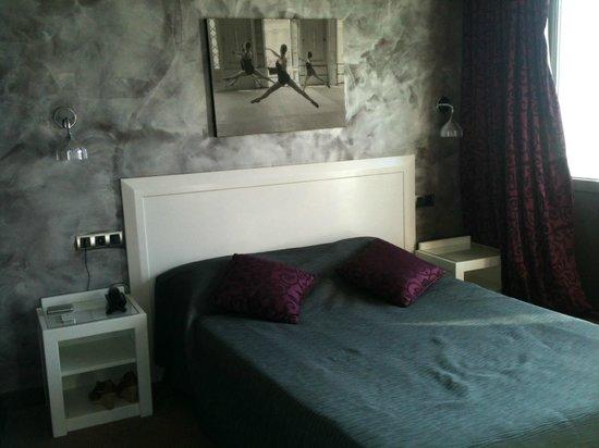 Hotel Beau Rivage : Chambre rénovée