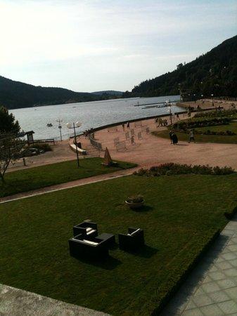 Hotel Beau Rivage: Vue du balcon 1er etage