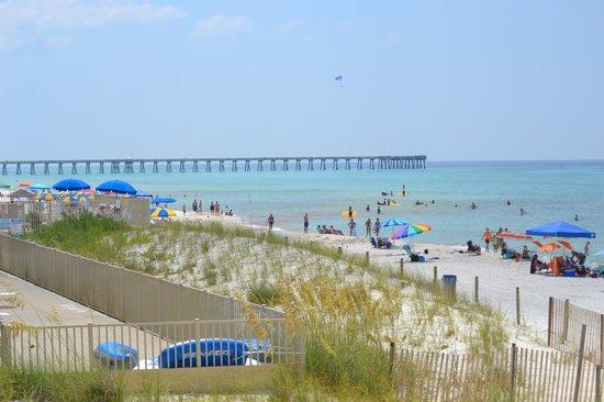 Tidewater Beach Resort: Beautiful Beach!