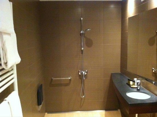 Hotel Le Roosevelt : douche design
