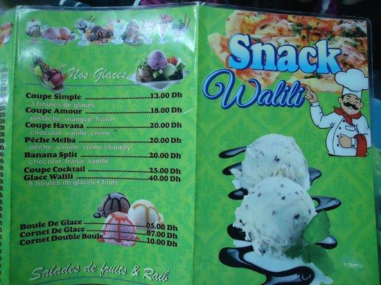 Snack Walili: resto