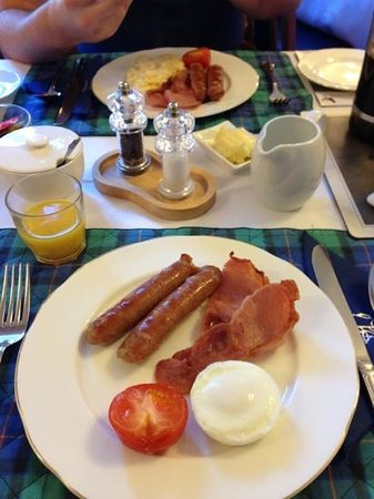 Parkburn Guest House: breakfast