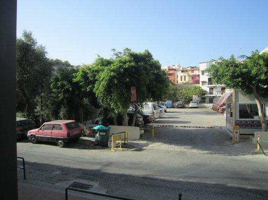 Fortezza Hotel : vue de la chambre standard