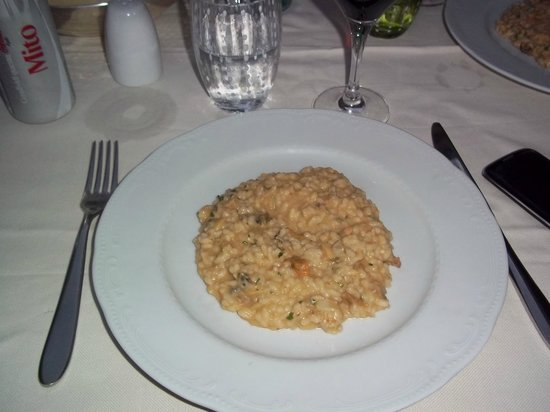 Al Theatro: A very disappointing dollop of risotto at Eur 19.50
