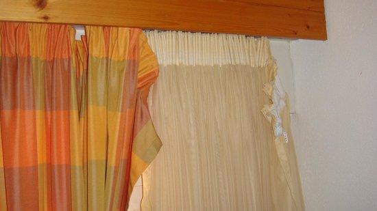 Hotel Restaurant Blume: Vorhänge
