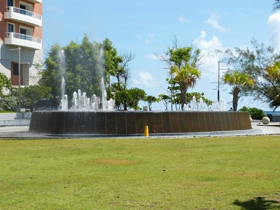 Ben & Jerry's Condado: View from outside the restaurant