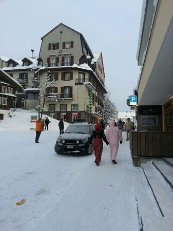 Hotel Hoheneck: Carnival in february!