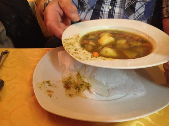 La Residenza: Suppenteller