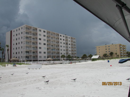 Sea Breeze Condominiums: View from the Beach