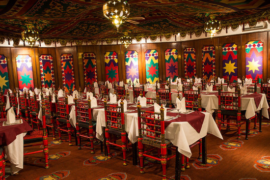 Koh-I-Noor: Private dining area