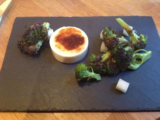 Acorn Vegetarian Kitchen: Truffled broccoli