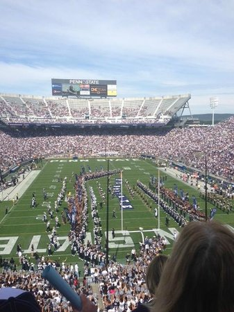 Penn State University : View from Club Level