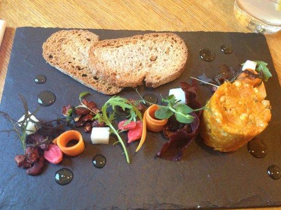 Acorn Vegetarian Kitchen: Carrot pâté
