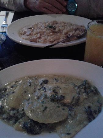 L'Osteria : Risotto and Pasta