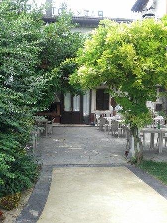 Park Hotel Elefante: la terasse du restaurant
