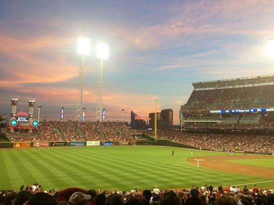 Great American Ball Park: there is not a bad seat in the house!